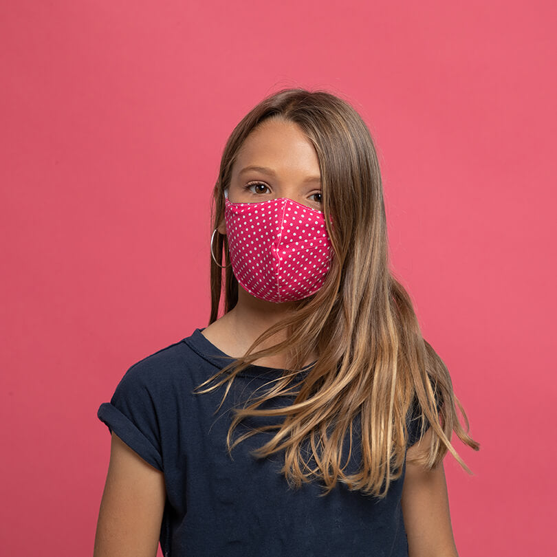 Mask Kids - Spotty Rose