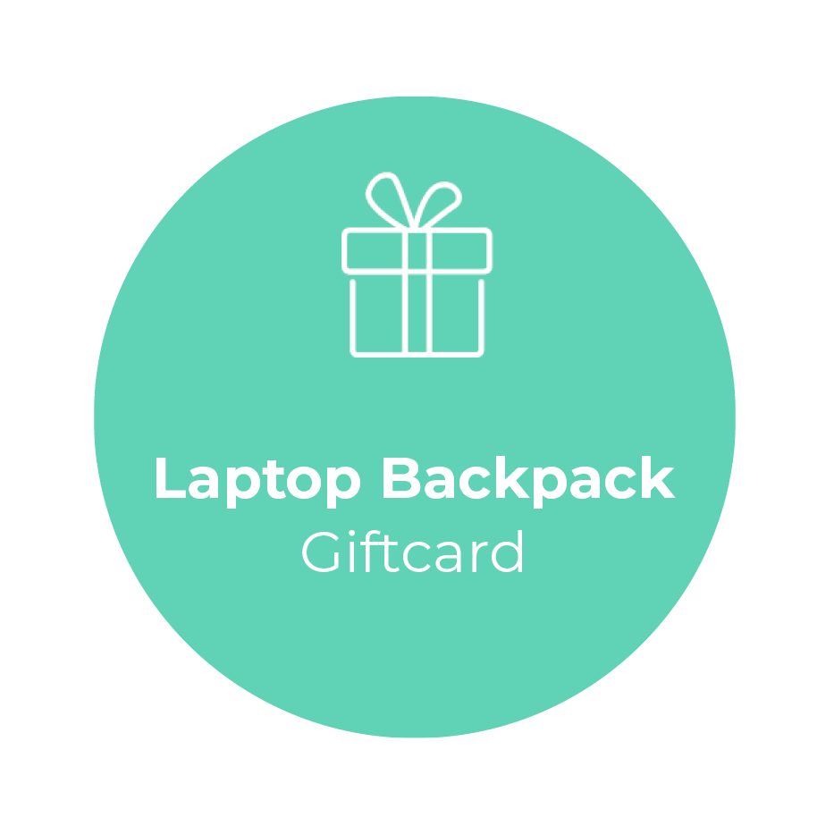 Giftcard - Laptop Backpack </br> + shipping