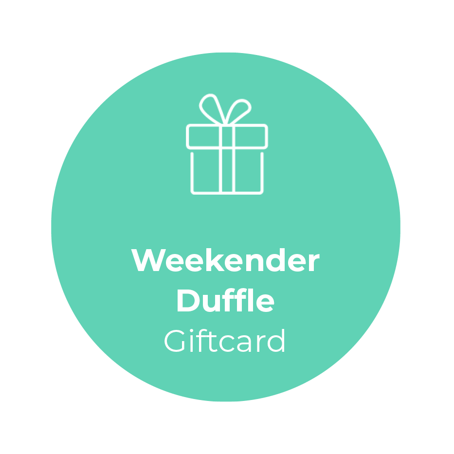 Giftcard -Weekender Duffle </br> + shipping