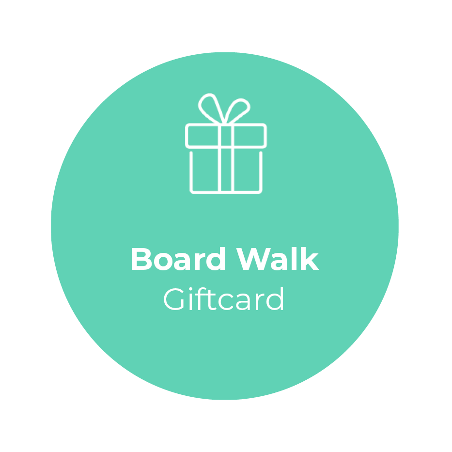 Giftcard - Board Walk</br> + shipping