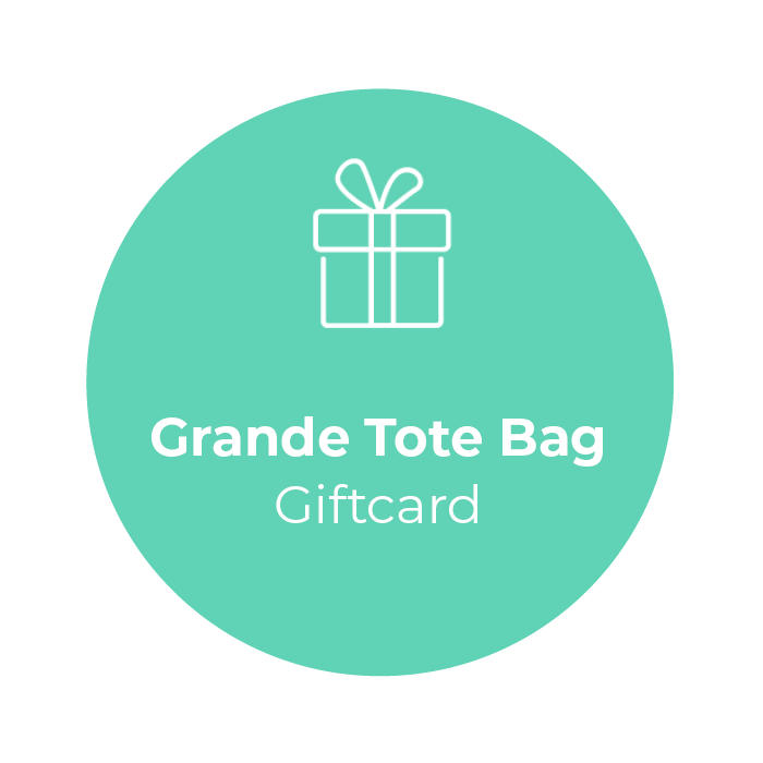 Giftcard - Grande Tote Bag </br> + shipping