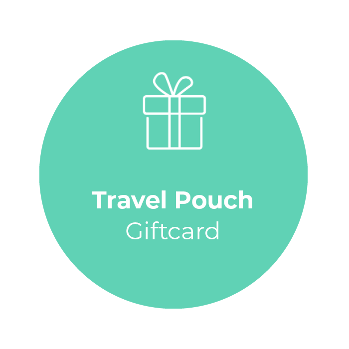 Giftcard - Travel Pouch </br> + shipping