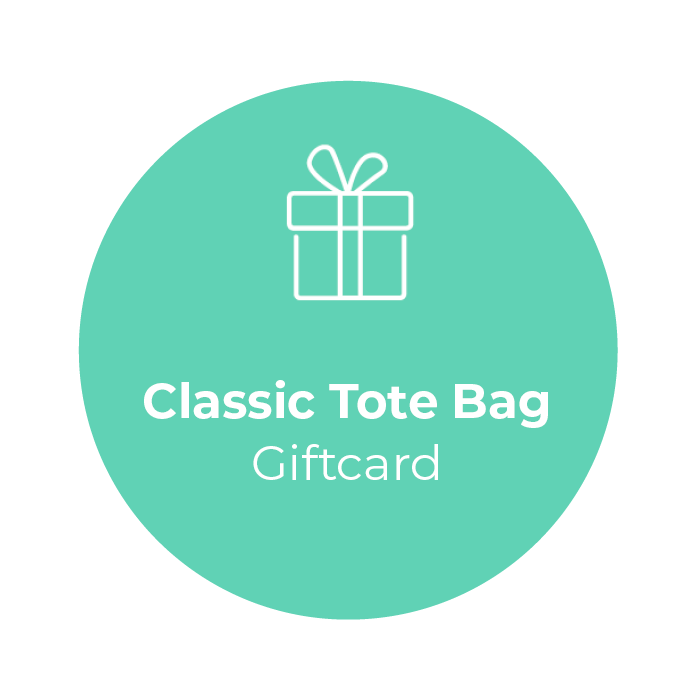 Giftcard - Classic Tote Bag </br> + shipping