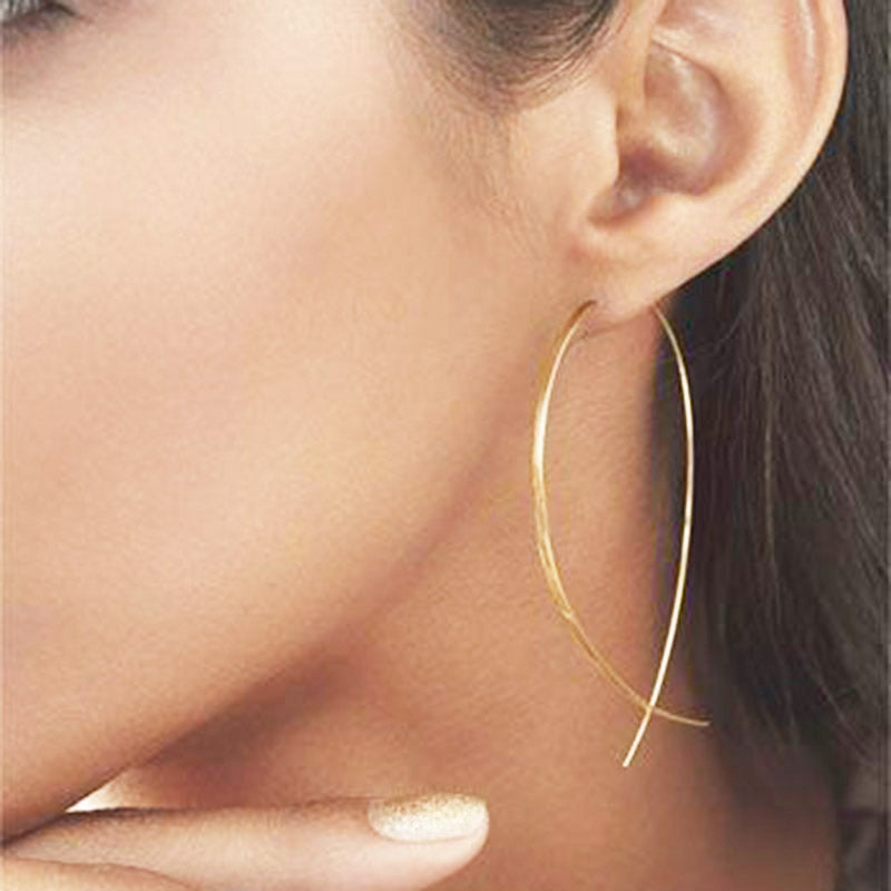 Minimalist Earrings Gold
