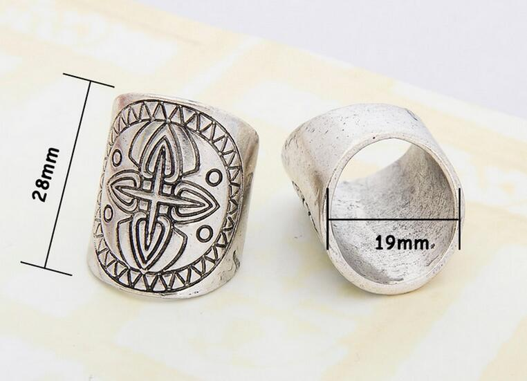 Tuareg Mandala Ring-Cross