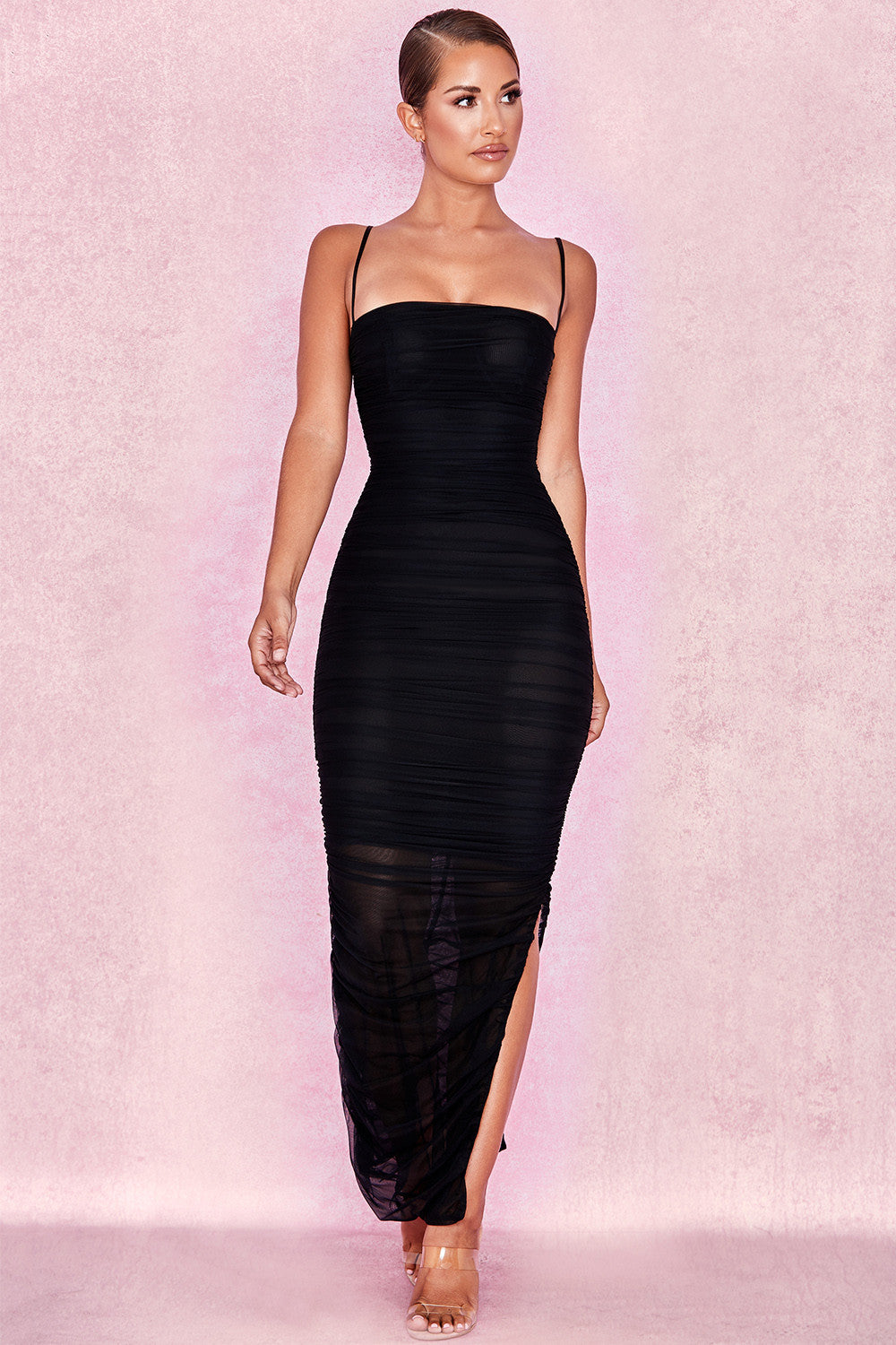 Qadira Bodycon Maxi Dress