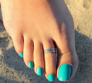 Senoas Silver Toe Ring