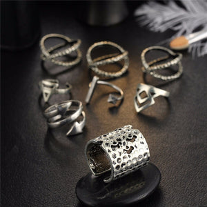 Sheyma Midi Ring Set