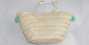 tassel straw bag