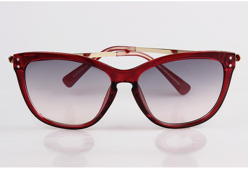 Sybella Floral Sunglasses-Red