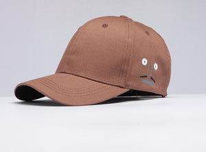 Cutesy Baseball Cap-Coffee
