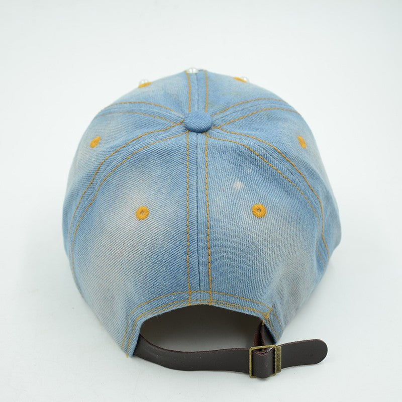 Queen Denim Baseball Cap