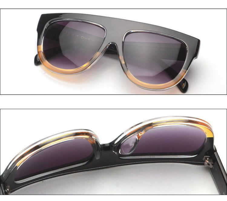 Amaro Flat Top Gradient Sunglasses