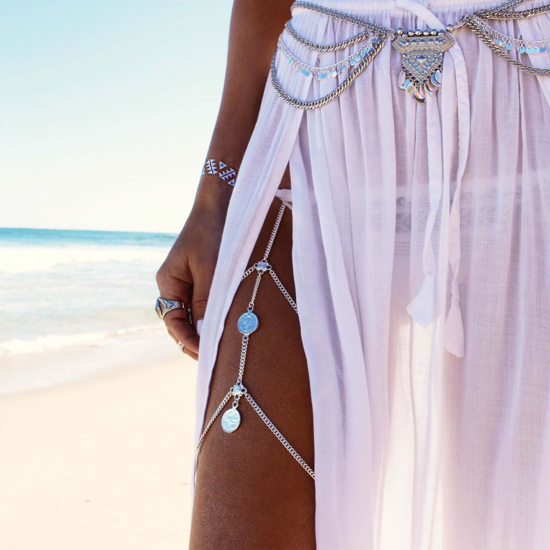 Ocean Breeze Hip Chain