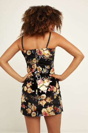 Abela Floral Bodycon Dress