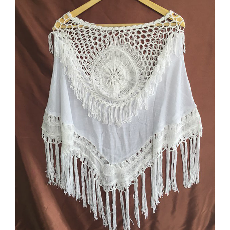 bohemian beach cover up top