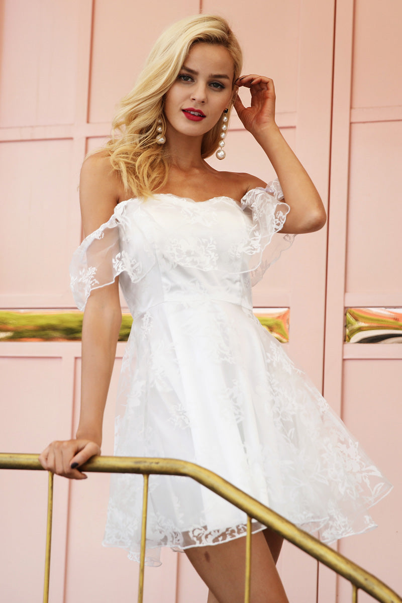 babydoll dress - white