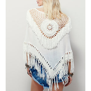 bohemian cover up top