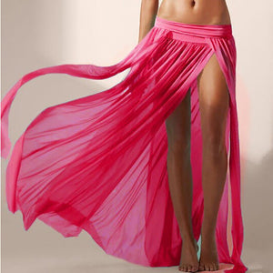 Flamingo Beach Skirt Wrap - Rose