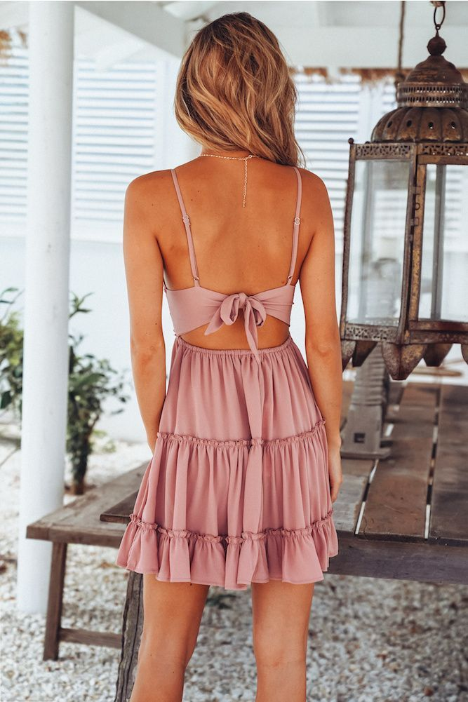 blush sundress