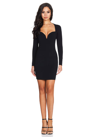 bodycon plunge dress