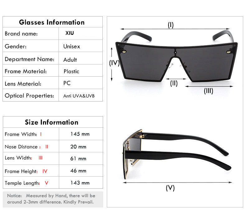 Lilya Rectangular Sunglasses