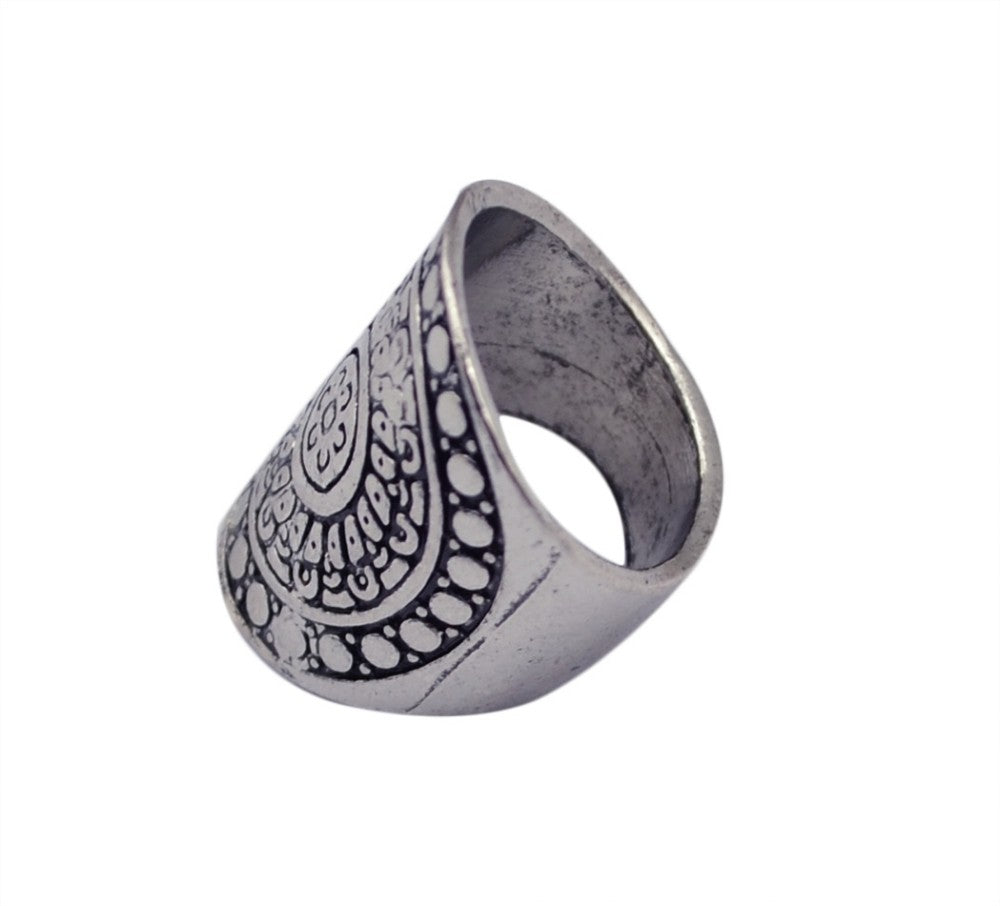 Tuareg Mandala Ring-Flower