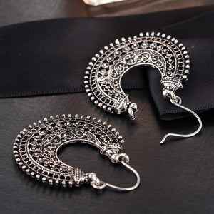 Silver Bohemian Earrings