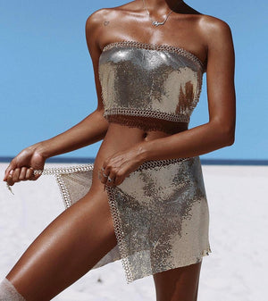 chainmail two piece set