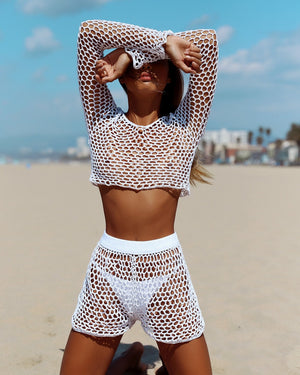 crochet two piece cover up