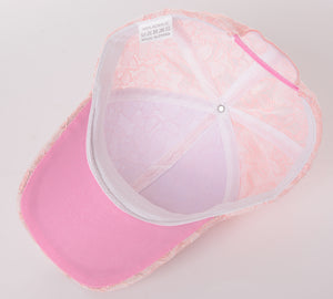 cute lace baseball cap