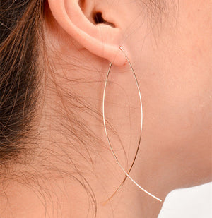 Inyoni Gold Minimalist Earrings