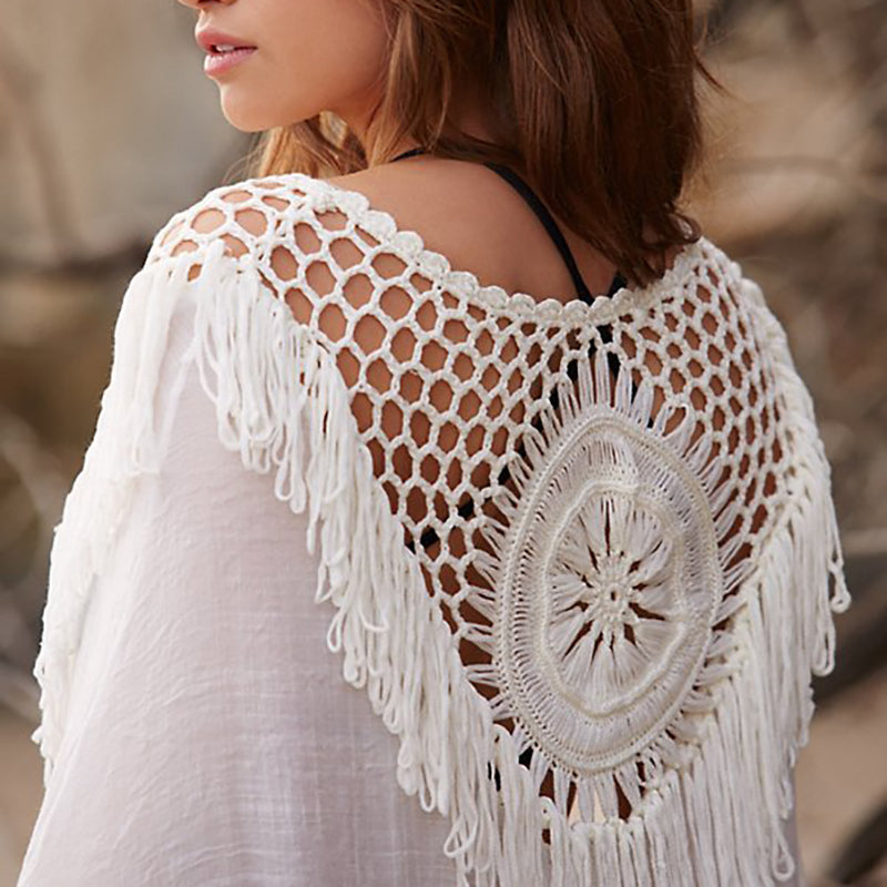 bohemian beach cover up