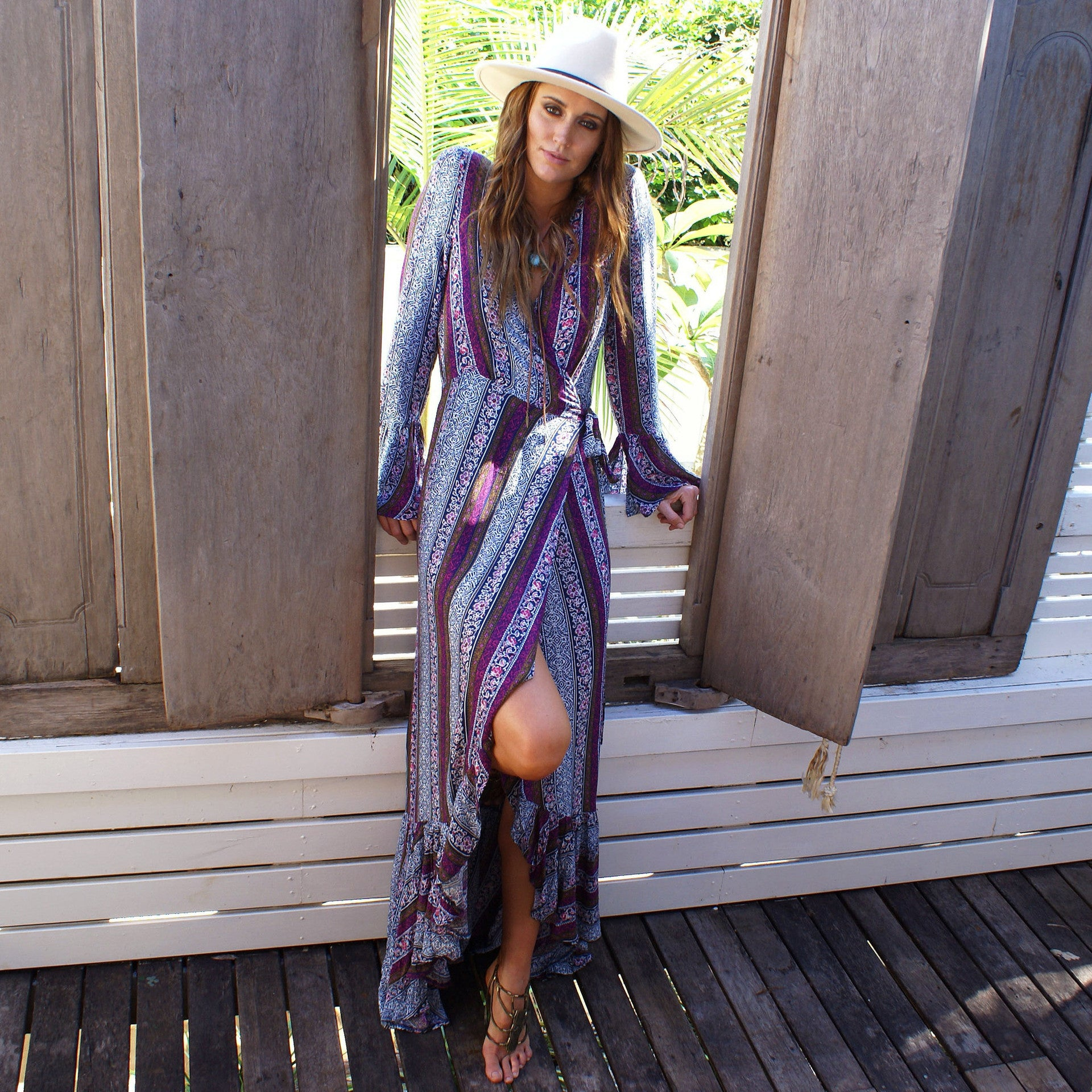 Lucent Bohemian Cover Up Dress