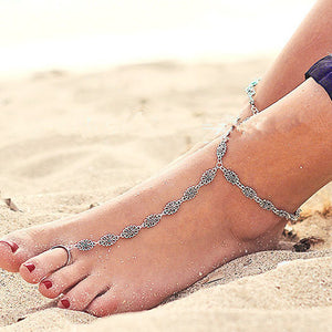 Ilaria Silver Anklet