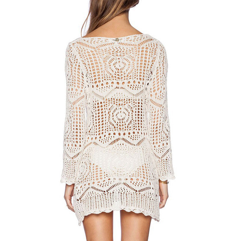 Ariana Crochet Beach Cover Up