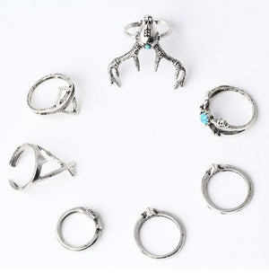 Pira Bohemian Ring Set