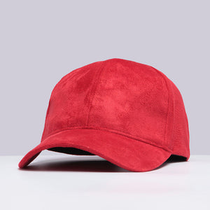 faux suede hat