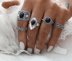turkish ring set