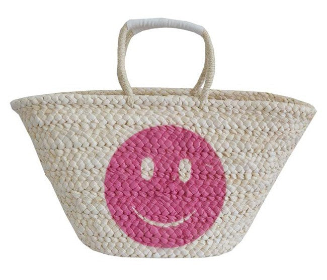 Smiley Face Beach Bag