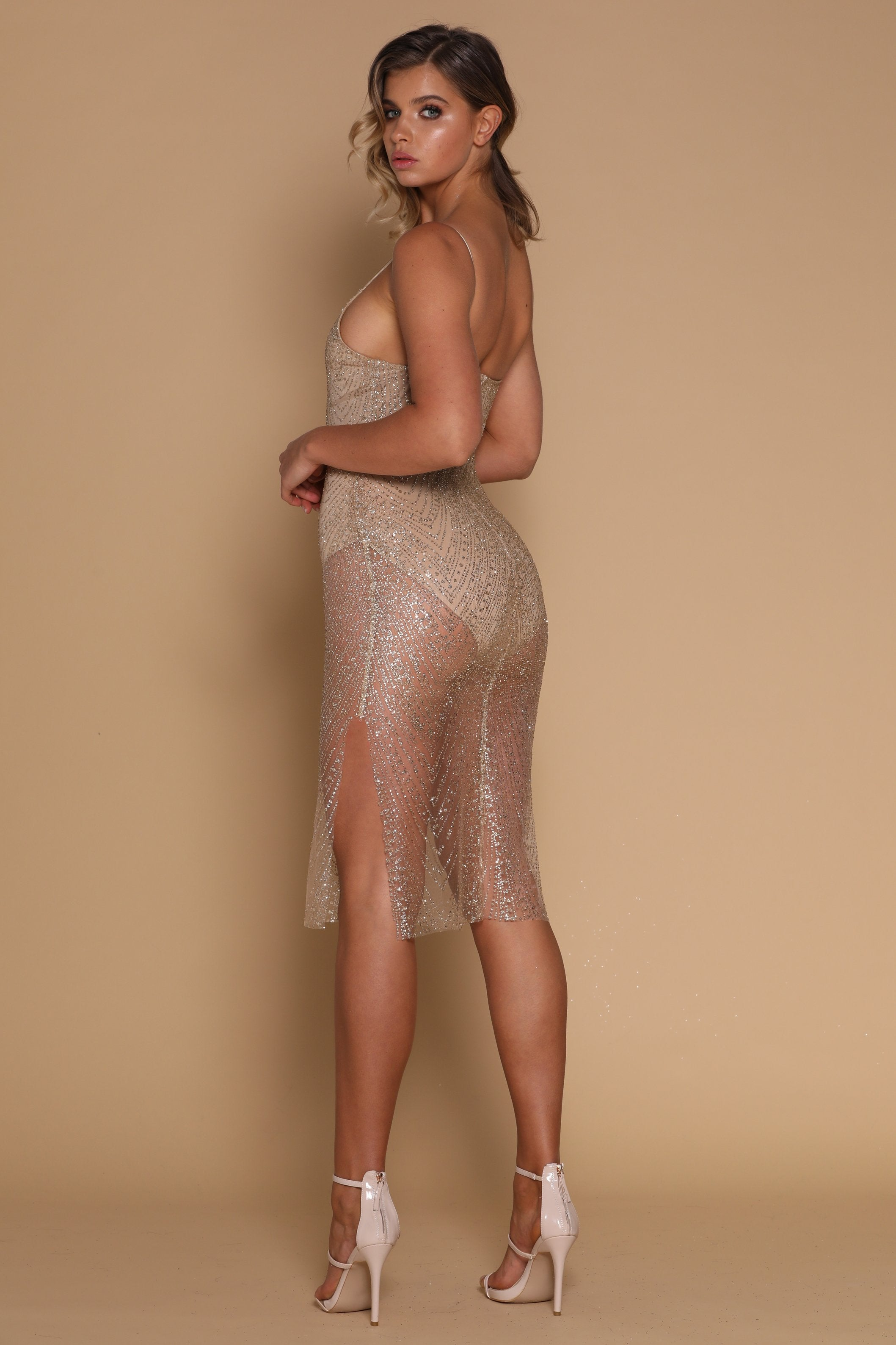Odette Sequin Dress