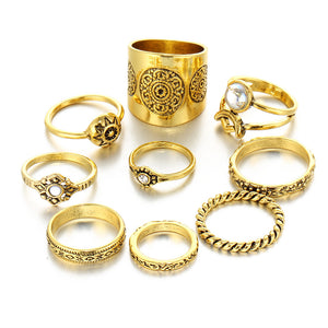 gypsy ring set