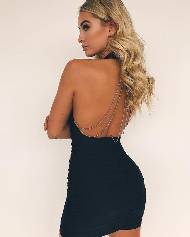 Vanna Halter Dress