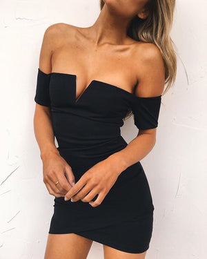 Sable Minidress