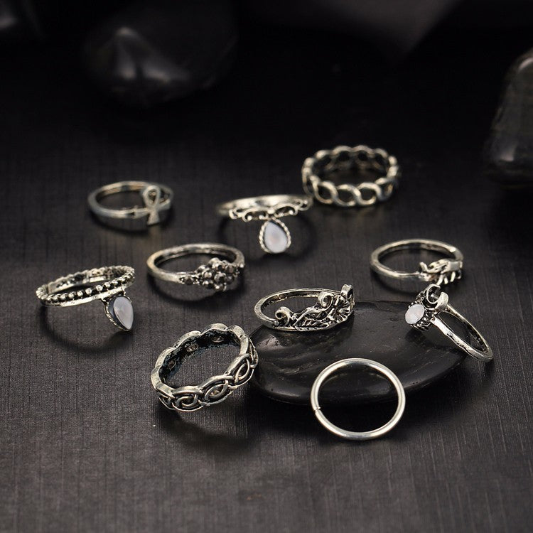Dassine Knuckle Ring Set