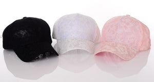 lace baseball caps