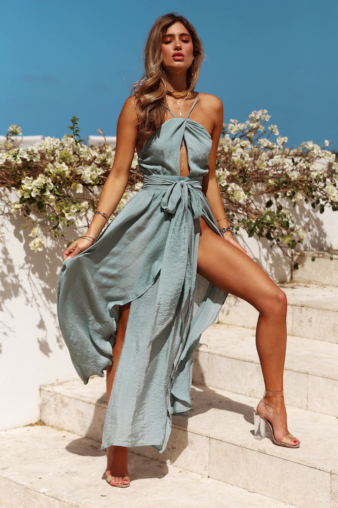 long flowy dress