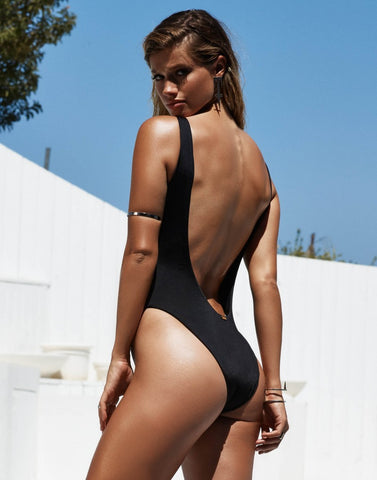 Kyra Low Back One Piece Swimsuit