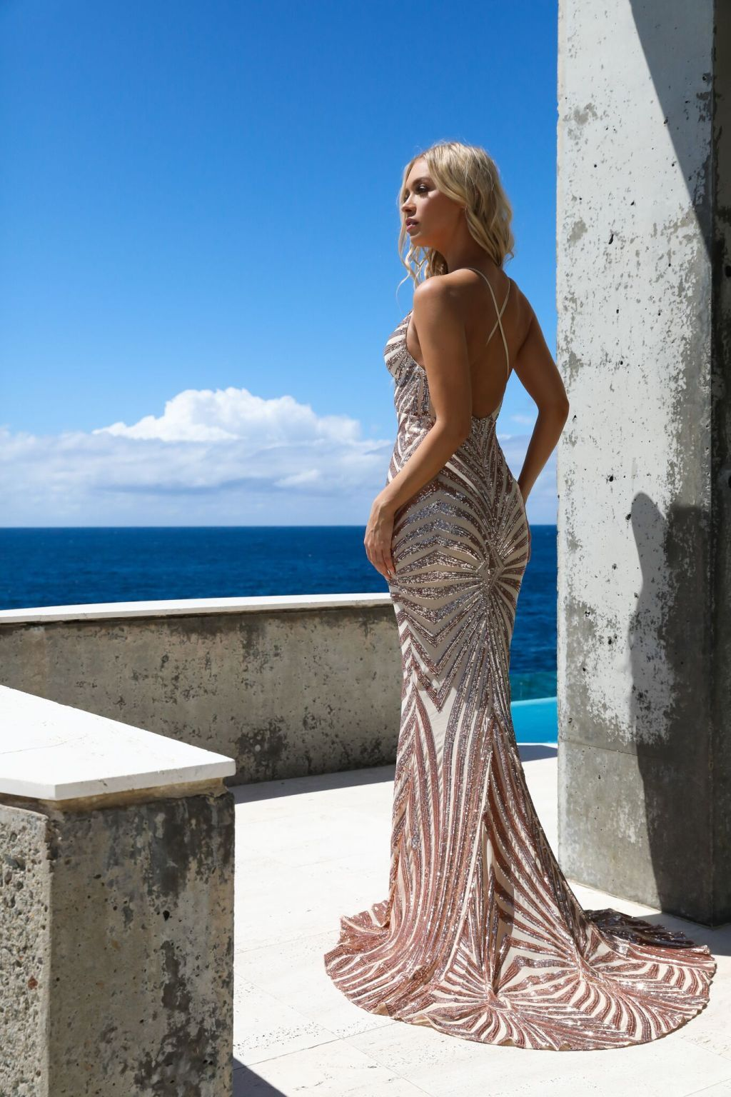 mermaid gown