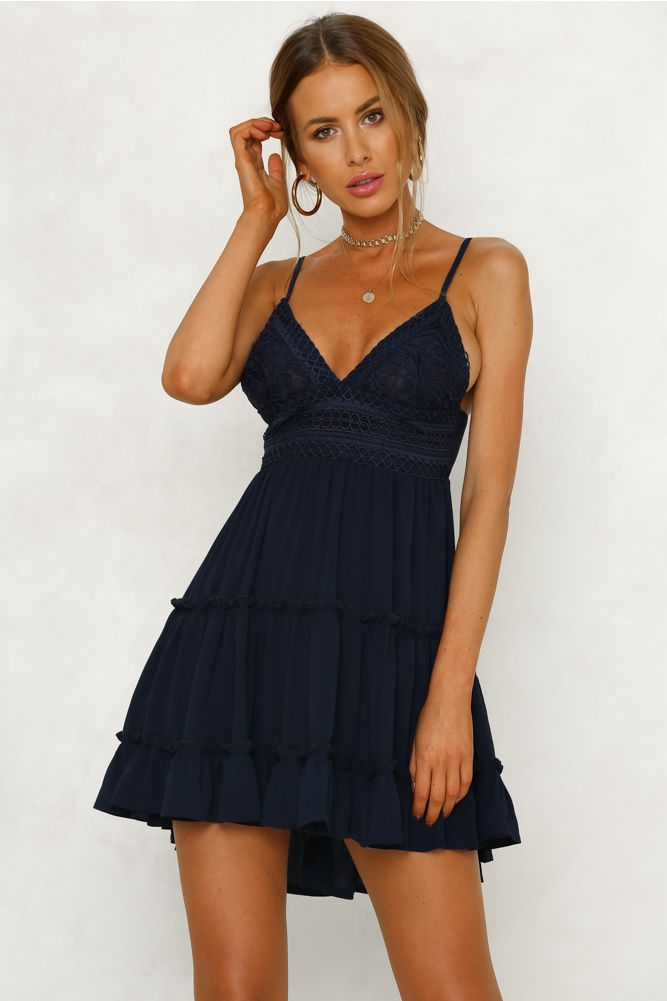 navy sundress